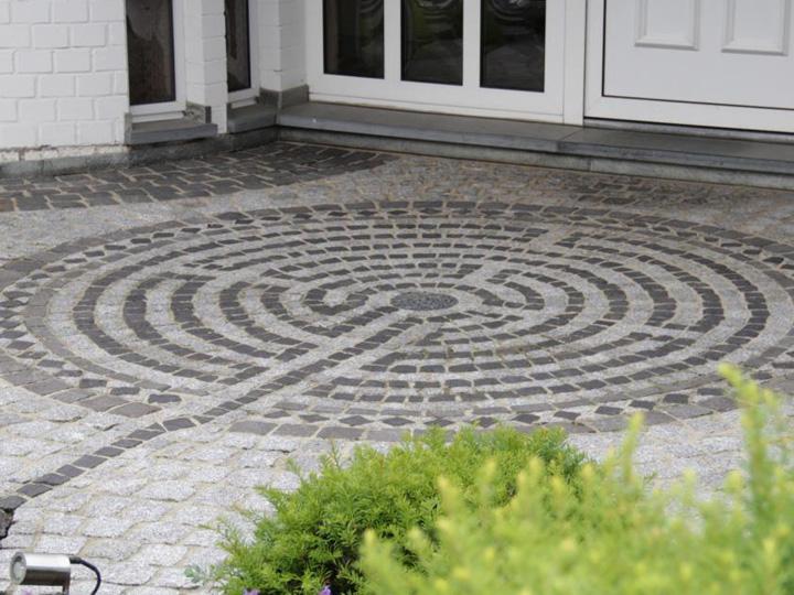 Labyrinth-Mosaik Verfugung