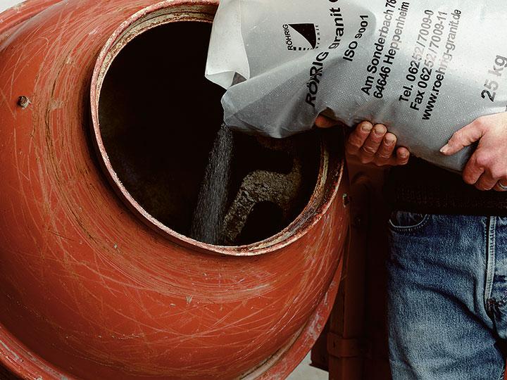Bild 2: Mineralstoff vorlegen